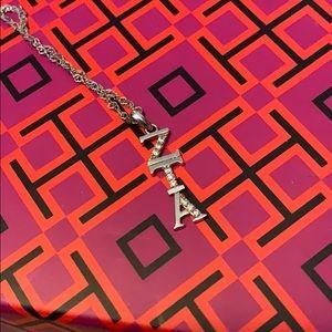 Jewelry - Zeta Tau Alpha Charm Necklace